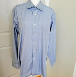 Paul Fredrick men's shirt. Size 17-35
